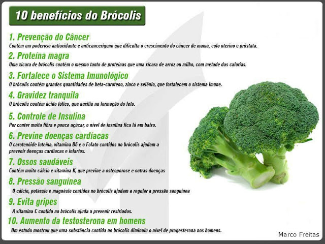 10 beneficios do brócolis
