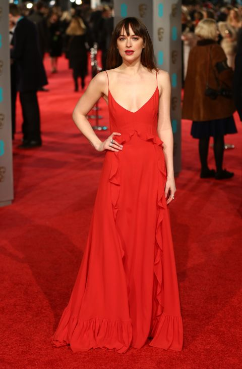 Dakota Johnson in Dior